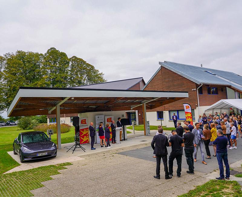 Green Systèmes Inaugure Son Ombrière Photovoltaïque